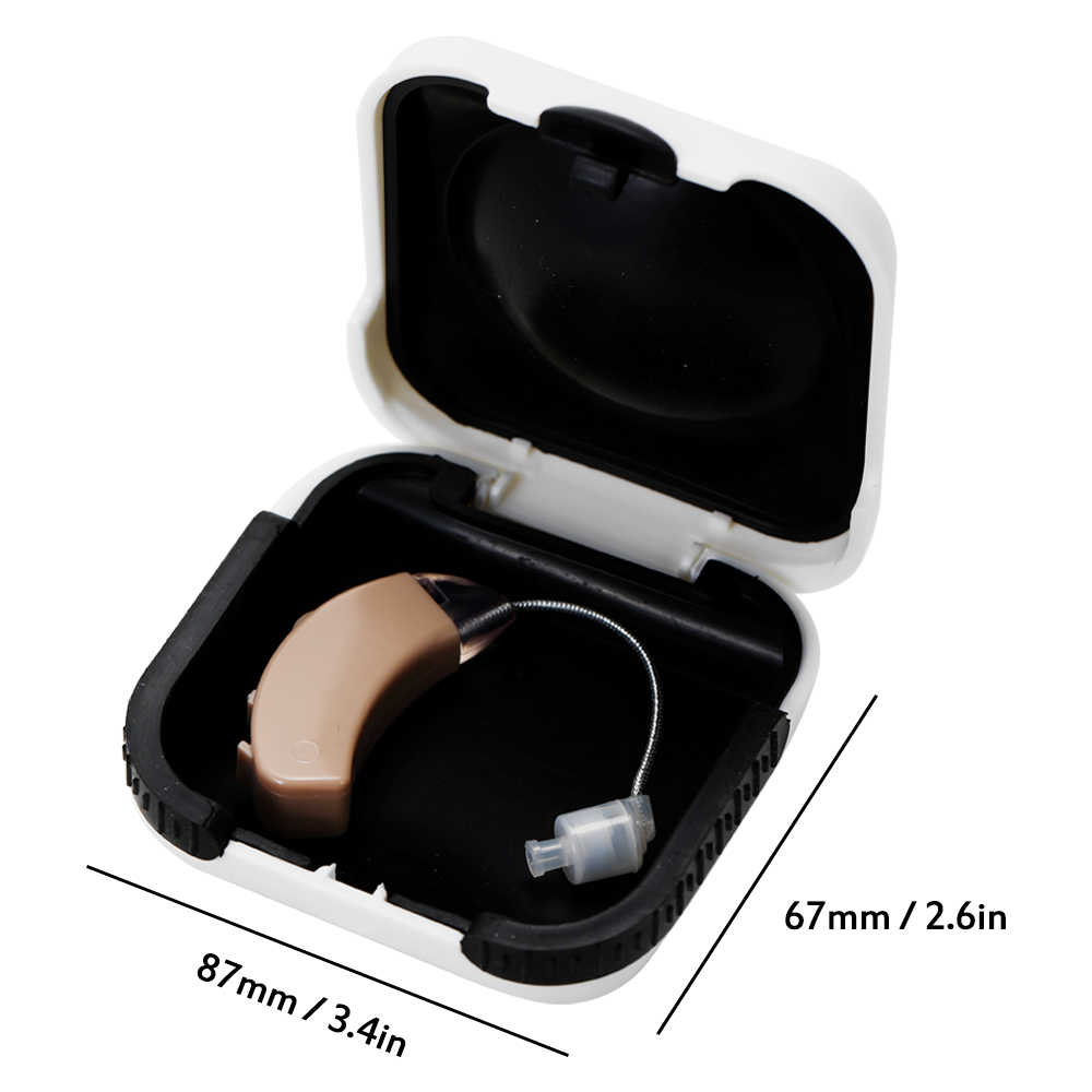 2019 Hearing Aids for The Elderly Small Mini Behind The Ear Sound Voice Amplifier Adjustable Tone Digital Hearing Aid Device