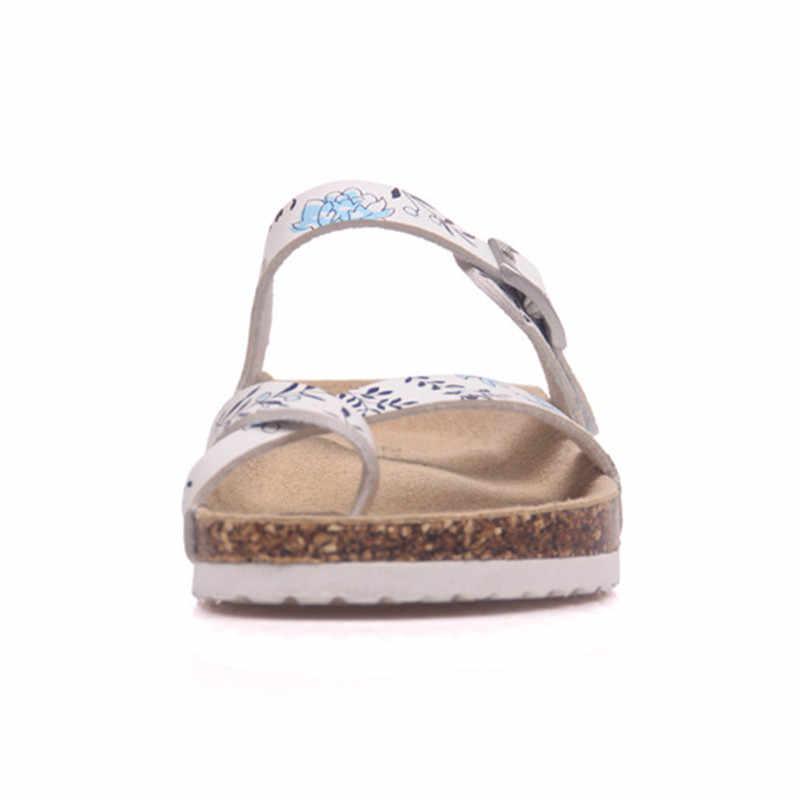 12a7e12ea51cb ... Feiyitu New Summer Male Beach Cork Slipper Flip Flops Sandals men Mixed  Color Casual Slides Shoes ...