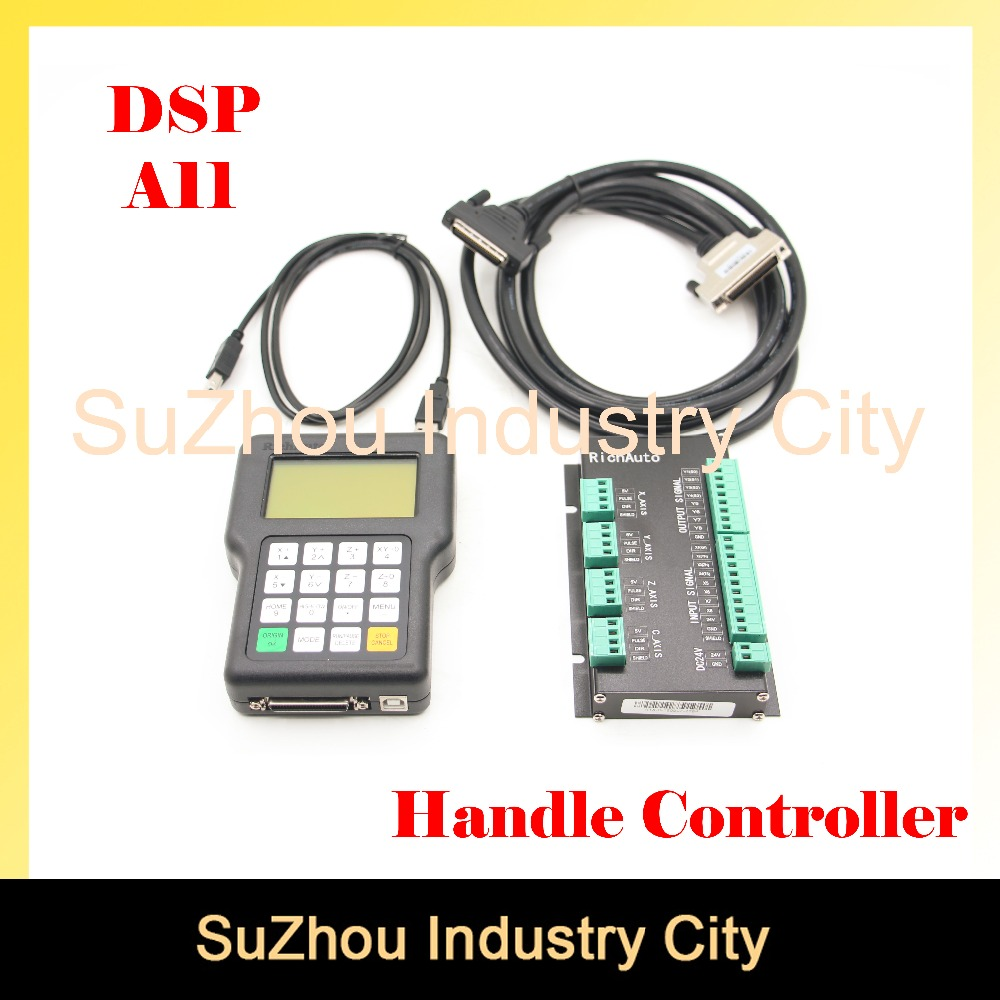 Free shipping ! DSP 3 axis A11 handle motion controller CNC wireless channel for CNC router engraver DSP handle English version cnc wireless channel for cnc router cnc engraver dsp controller 0501 dsp handle english version