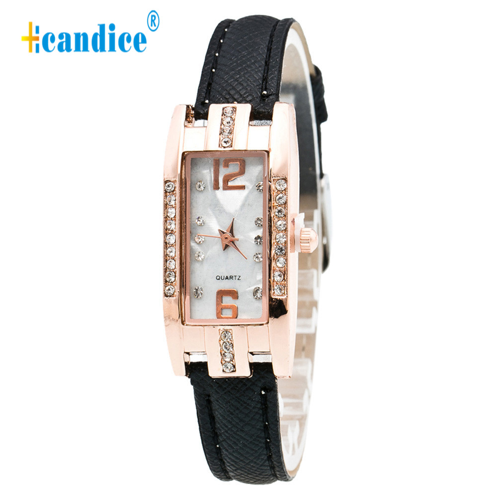 Hcandice Relogio Feminino Pointer Quartz Wrist Fashion Women Watches Horloge 17May5