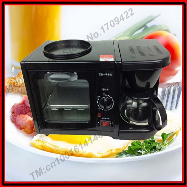China Automatic Electric 5 In 1 Breakfast Set Toaster Kettle Coffee Maker