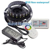 24V 5M RGBW 5050 600LED Double Row LED strip+2.4G controller+ 5A power Adapter