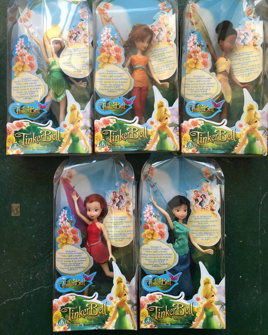 Tinkerbell & the Lost Treasure Doll Girl Collection toy Gift трусы finn the treasure