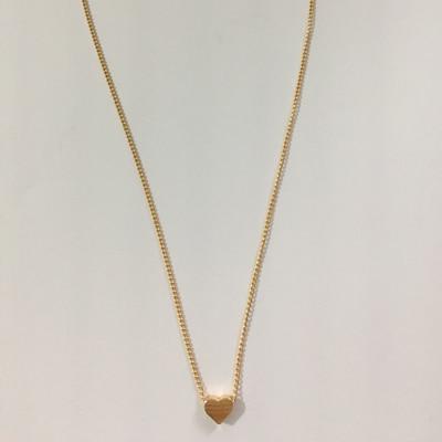 H26 Новая мода сердце лист луна кулон ожерелье из хрусталя женские праздничные пляжные массивные ювелирные изделия - Окраска металла: x271-Gold