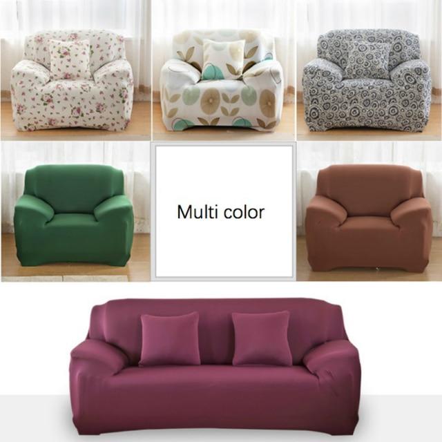 Lovely Solid Single Seat / Double Seat / Sectional Sofa Cover Funda Sofa  Sofa