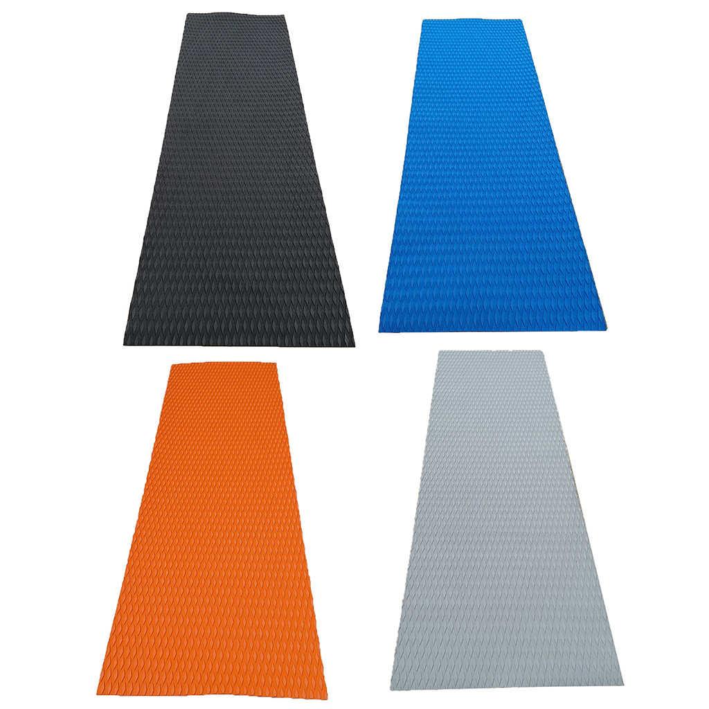 Non-slip Boat Teak Decking Pad Mat Kayak Marine Flooring Sheet Carpet Orange