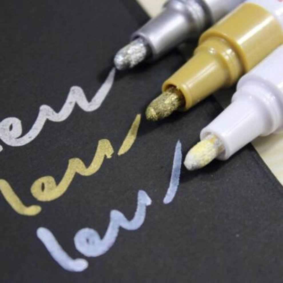 Портативная гладкая и удобная ручка плавного цвета, резина для шины, металлическая Перманентная краска, граффити, царапины