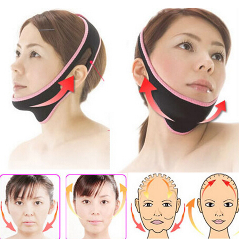 Face-Lift Mask Massage Slimming Face Shaper Relaxation Facial Slimming Mask Face Lift Up Belt Sleeping Bandage slimming lift leggings elimination belly fat slimmer thighs lift butt body shaper