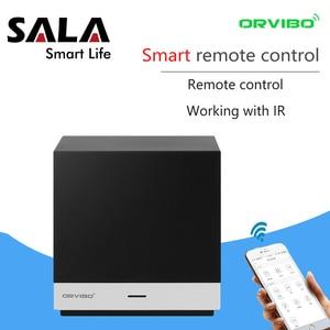 Image 2 - Orvibo EU Socket MagicCube Allone Pro systèmes dautomatisation de contrôle à distance intelligente WiFi IR Hub contrôleur par iOS Smartphone Android