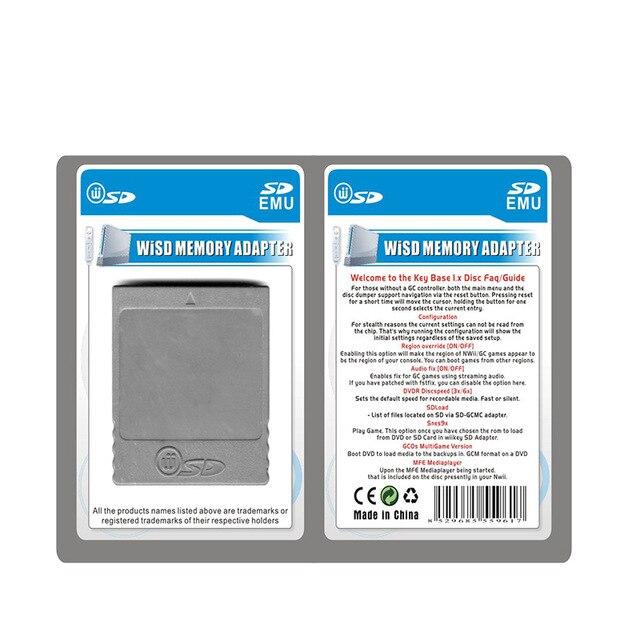 SD Flash Memory Card WISD Stick Adaptor Card Converter