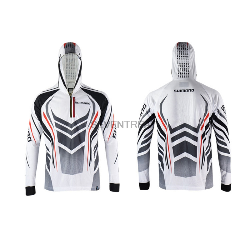 Fresh 2018 Men Brand Shimano Fishing Clothing UV Protection Moisture  LV42