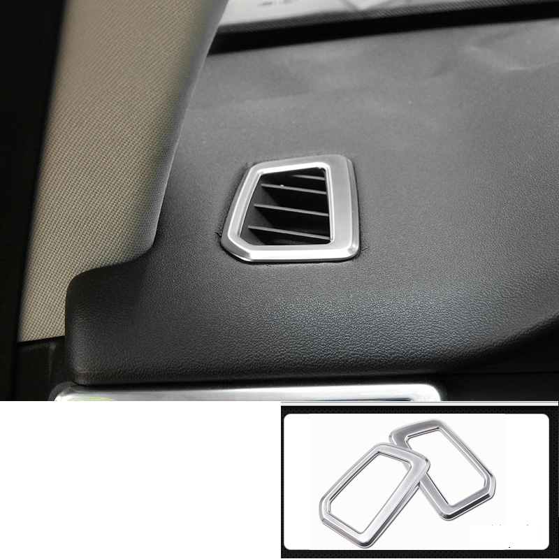 lsrtw2017 abs car dashboard air conditioner vent trims for land rover discovery sport 2014 2015 2016 2017 2018 2019 L550 in Interior Mouldings from Automobiles Motorcycles