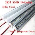 Smarstar 12 в 100 см 2835 угловой V алюминиевый корпус молочный прозрачный чехол 1 м светодиодный бар свет Жесткая светодиодная лента свет супермарке...