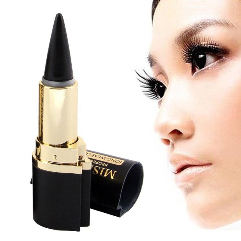 ③1 unids belleza negro impermeable Delineador de ojos líquido Eye ...