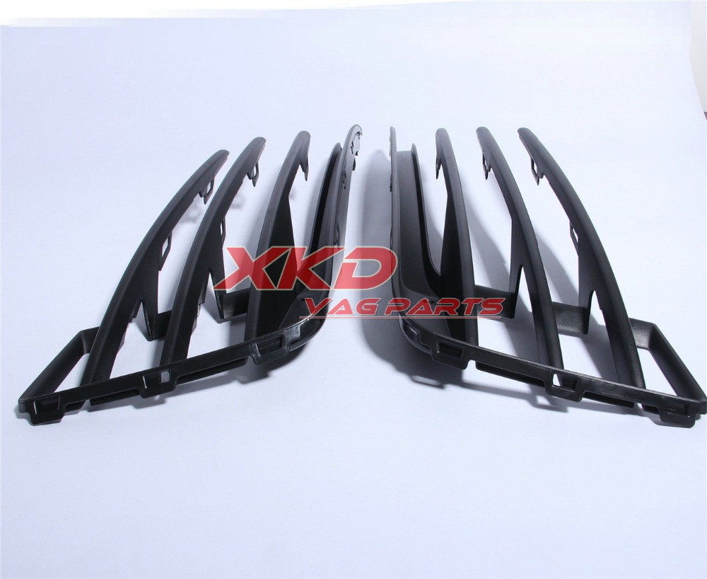 Front Left Right Fog light Bumper Grilles For VW Golf GTI MK7 MKVII 5G0 853 665