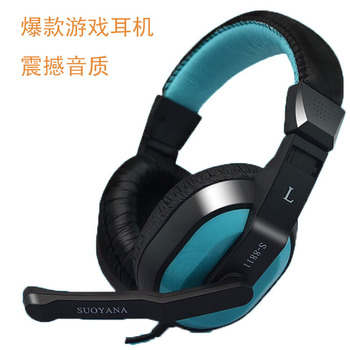 QearFun 2018 New Headphone E-sports Gaming Headset Earbuds Clarity Stereo Sound with Music Headset for Desktop PC