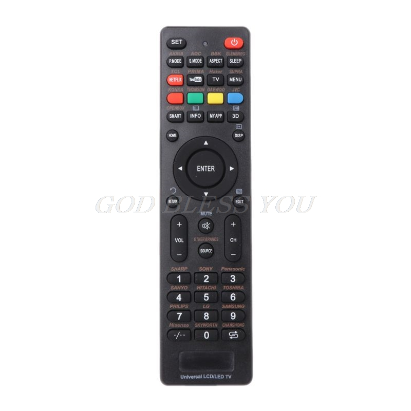 LCD LED Smart Controller Universal TV Remote Control for sony philips lg samsung vizio supra bbk izumi panasonic hitachi akai