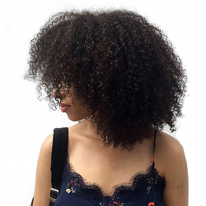 Best Seller 3b 3c Kinky Curly Clip In Human Hair Extensions Honey