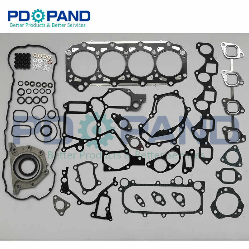 ZD30 ZD30DDTI полный комплект прокладок двигателя 10101 VC125 для Nissan Patrol GR II Wagon Y61 3 0 DTI/NAVARA
