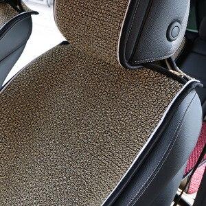 Image 5 - 2 pc人工リネン車のシートカバーの秋と冬の新/ユニバーサル自動車、車のシートクッションマントほとんどの車に適合