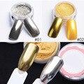 Venta caliente Magia Profesional Glitter Powder 2017 Precio Barato Espejo Efecto de Arte Diseño de Uñas de Gel En Polvo de Calidad Superior Envío Gratis
