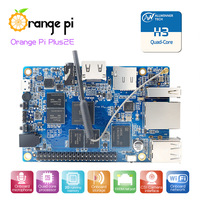 2016 Hot Orange Pi Plus 2E H3 Quad Core 1.6GHZ 2GB RAM 4K Open-source development board beyond raspberry pi 2