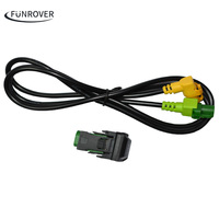 Car USB Cable Adapter Switch For Volkswagen RCD510 RNS315 RCD300 VW Jetta MK6 Polo Touran Tiguan