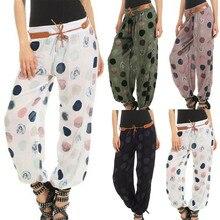 Harajuku Sweatpants Women Ladies Floral Trousers Long Pants Baggy Leggings Plus Size Spring Summer Casual Trousers
