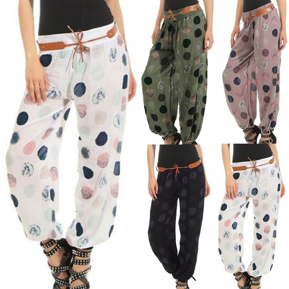 Harajuku Sweatpants Women Ladies Floral Trousers Long Pants Baggy font b Leggings b font Plus Size
