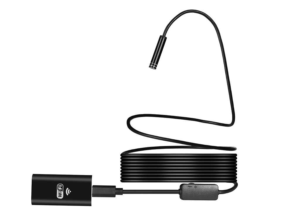 1-10 м Wifi эндоскоп HD 720P 1.3MP 8 мм Wifi эндоскоп Iphone Android 720P камера эндоскопическая Android iOS Boroscope камера