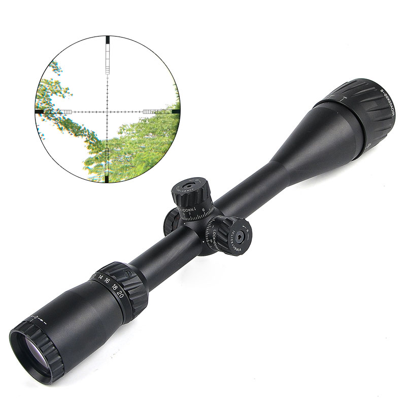 Здесь продается  Hawke 5-20X50 AOIR Hunting Scopes Red &Green&Blue Optical Sight Riflescope Rifle Scope  for Airgun Air Rifle Luneta Para Rifle  Спорт и развлечения