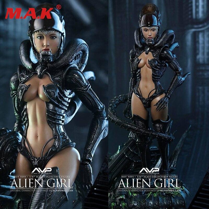 HAS002 hot Anjo série 1:6 Alien vs Predator action figure sexy girl conjunto completo feminino acessórios boneca toy modelo para coleção