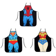 58*72cm Funny Cooking Kitchen Apron 3 Styles Sexy Dinner Party Apron delantal cocina aprons for woman & man delantales wholesale