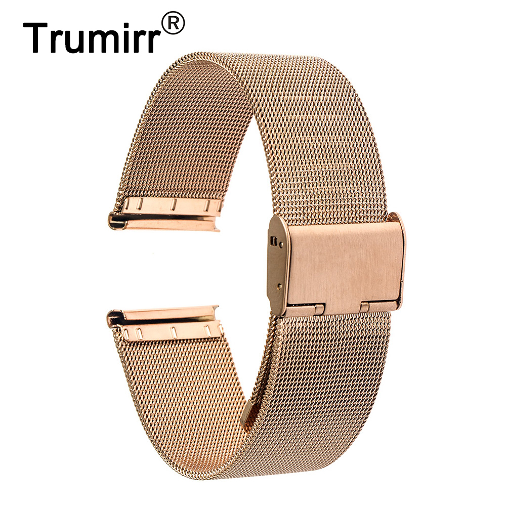 18mm Milanese Band for Huawei Watch Asus ZenWatch 2 (1.45