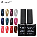 Vrenmol 1pcs 3D Magnetic Cat's Eye UV LED Nail Gel Polish Soak Off 24 Colorful Gel Lacquer Varnish Need Magnet