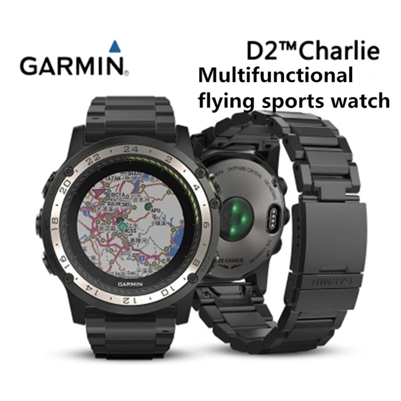 b3edb4b2d GARMIN D2 Charlie Heart Rate GPS Navigation Multifunction Outdoor Pilot  Sport Watch Waterproof