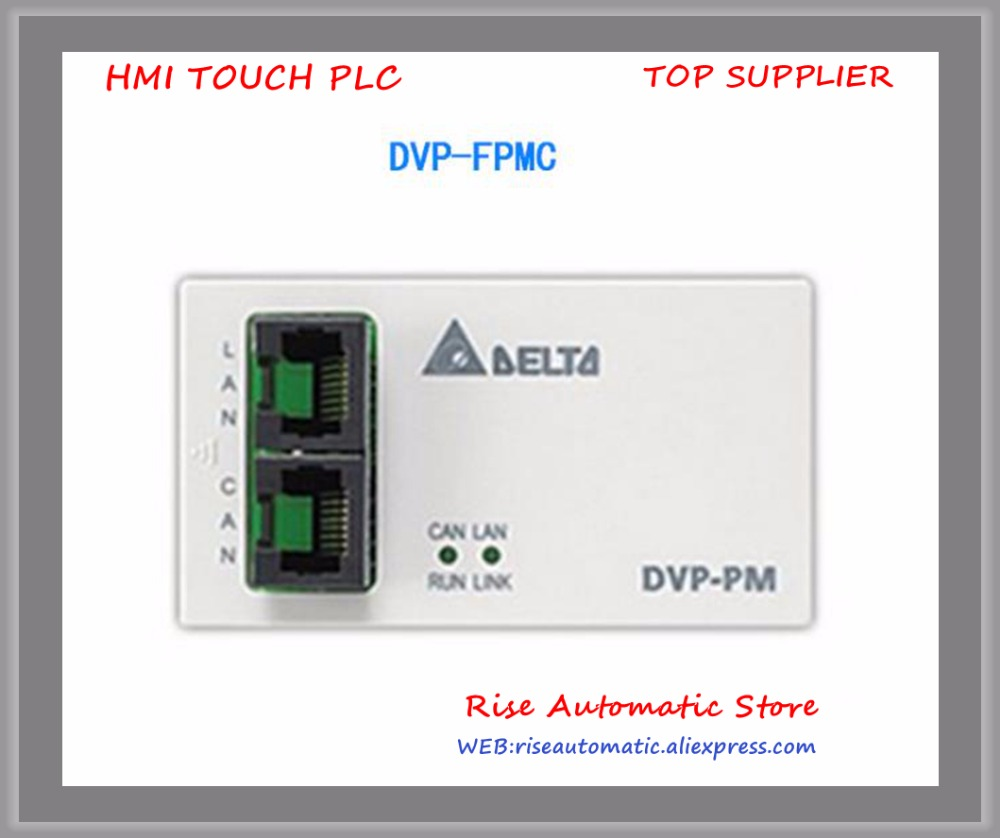 New Original Programmable Controller PLC Module DVP-FPMC Ethernet CAN open communication card module original 300a1200v module ff300r12me3 ff300r12me4