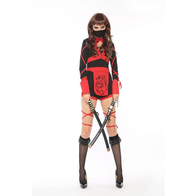 Halloween Sexy Ladies Women Female Ninja Costume Cosplay Lingerie Female  Ninja Halloween Cosplay Costumes