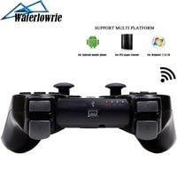 Waterlowrie джойстик для Dualshock 3 PS3 ПК Android мобильный телефон геймпад, Беспроводной Bluetooth Контроллер для Playstation 3 игры джостик консоли