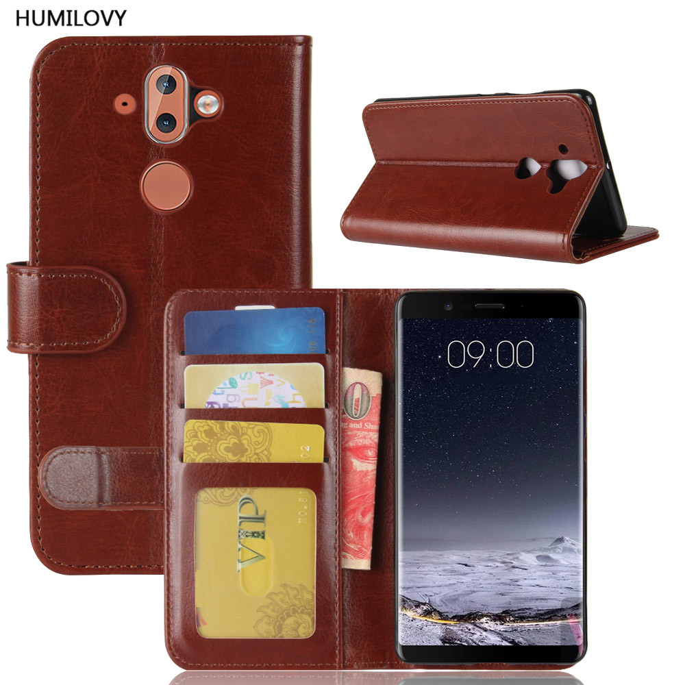 For Nokia 8 Sirocco Case for Nokia 8 Sirocco Cover PU Leather Flip Cover Phone Case For Nokia 8 Sirocco TA-1042 TA-1005 Fundas