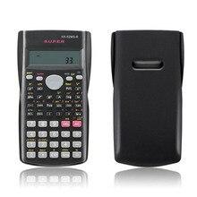 Портативный офисный калькулятор для студентов и школьников, пластиковый портативный калькулятор с батареей для математики