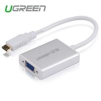 Ugreen Mini HDMI To VGA Adapter Converter With AV Audio Micro USB Cable For Camera DV