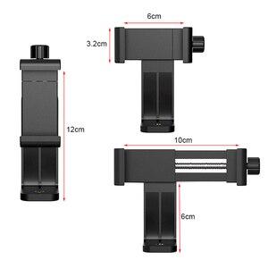 Image 5 - Rovtop אוניברסלי טלפון חצובה הר מתאם Rotatable Digtal מצלמה סוגר טלפון סלולרי גוזז מחזיק אנכי חצובה Stand