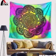 Indian Mandala Tapestry Women Beach Towel Floral Printing Polyester Yoga Mat Fashion Design Sofa Cover Ceiling Decor2017