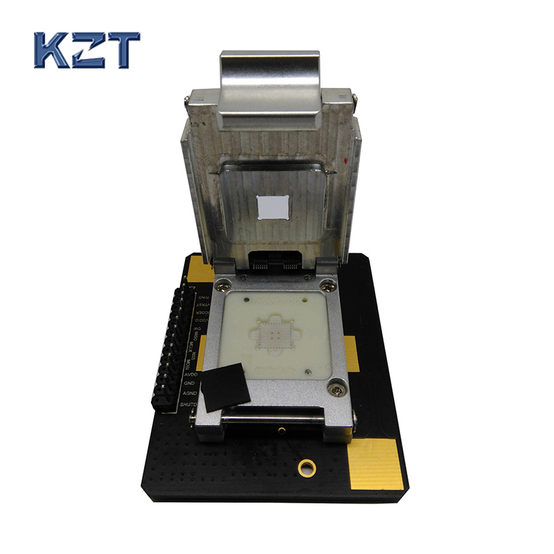 fingerprint Sensor IC test fixture Pogopin Contact Type Clamshell Structure high quantity medicine detection type blood and marrow test slides
