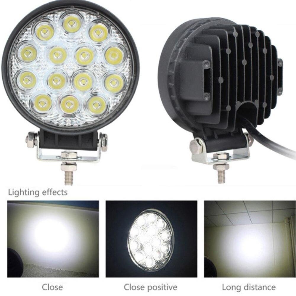 42 Вт 12 В-24 В светодиодный свет работы Spot/потока светодиодный Offroad свет лампы Worklight для Off road ATV автомобиля мотоцикла Грузовик 9449