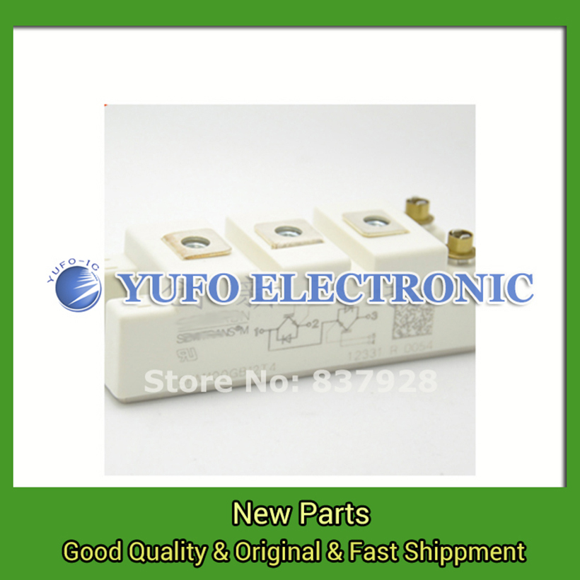 Free Shipping 1PCS   IGBT module IGBT SKM100GB12T4  New YF0617 relay free shipping 1pcs lot 6mbi20gs 060 module igbt best quality