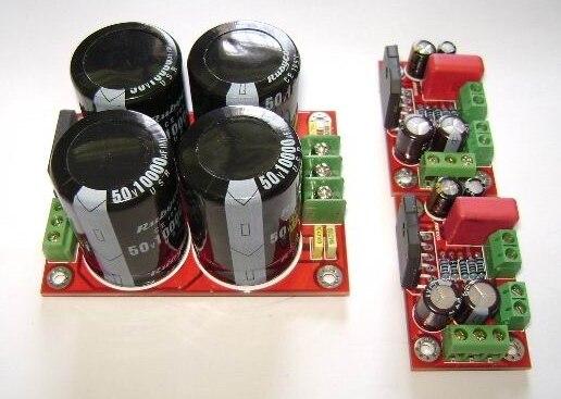 цена на YJ LM3886 amplifier board +/-28VDC 3pcs/set with power rectifier filter plate board stereo amplifier board