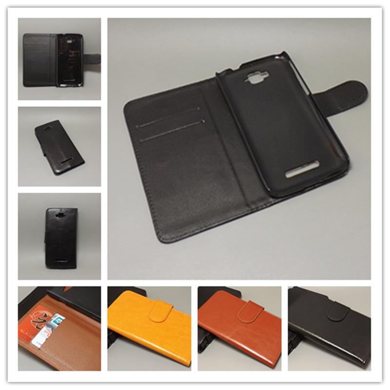 Crazy Horse чехол удержания две карточки с 2 держатель для карт и мешок слот для Alcatel One Touch POP C7 OT 7041D OT 7040D ...