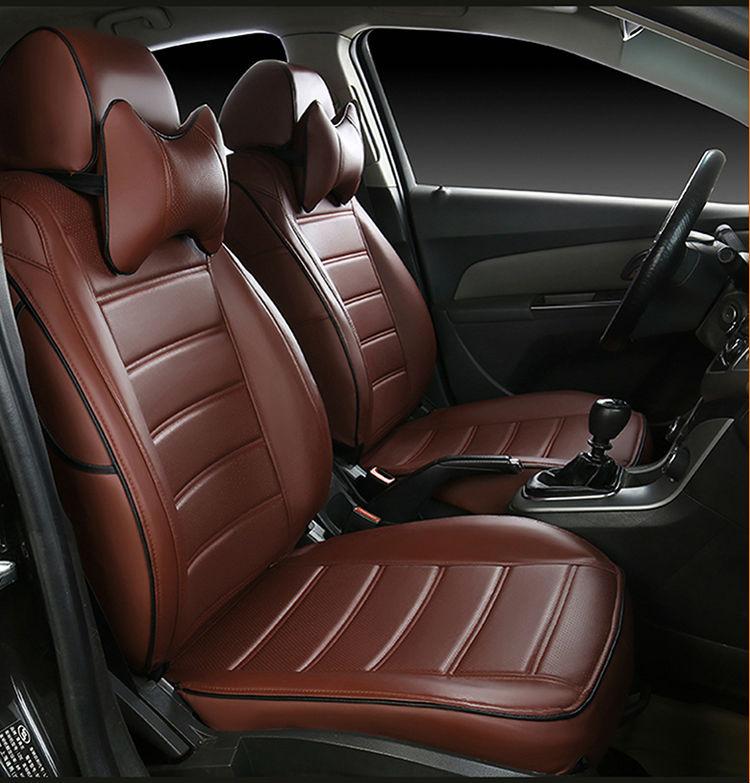 Car Seat Covers Pu Leather Originally For Ferrari GMC Savana JAGUAR